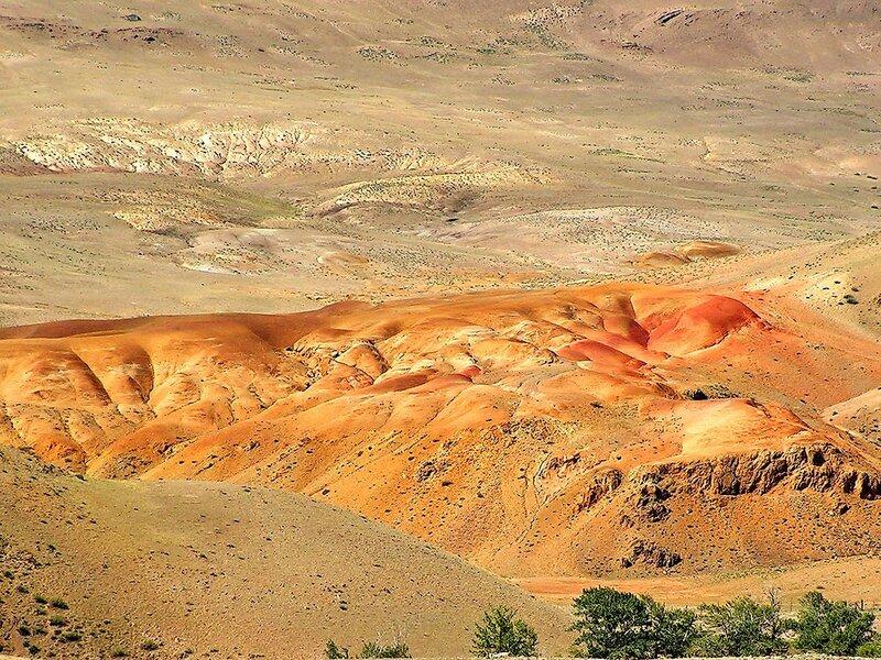 Кусочек Марса в горах Алтая