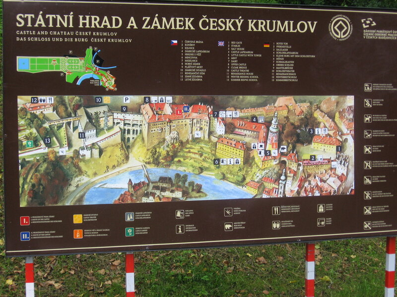 Чешский Крумлов, часть 2.