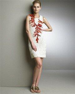 Пэчворк цвета слоновой кости. Платье от Оскара Наши воплощения