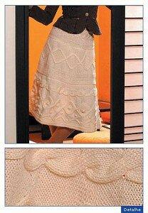 Юбка от Valentino 2005 с аранами Наши воплощения