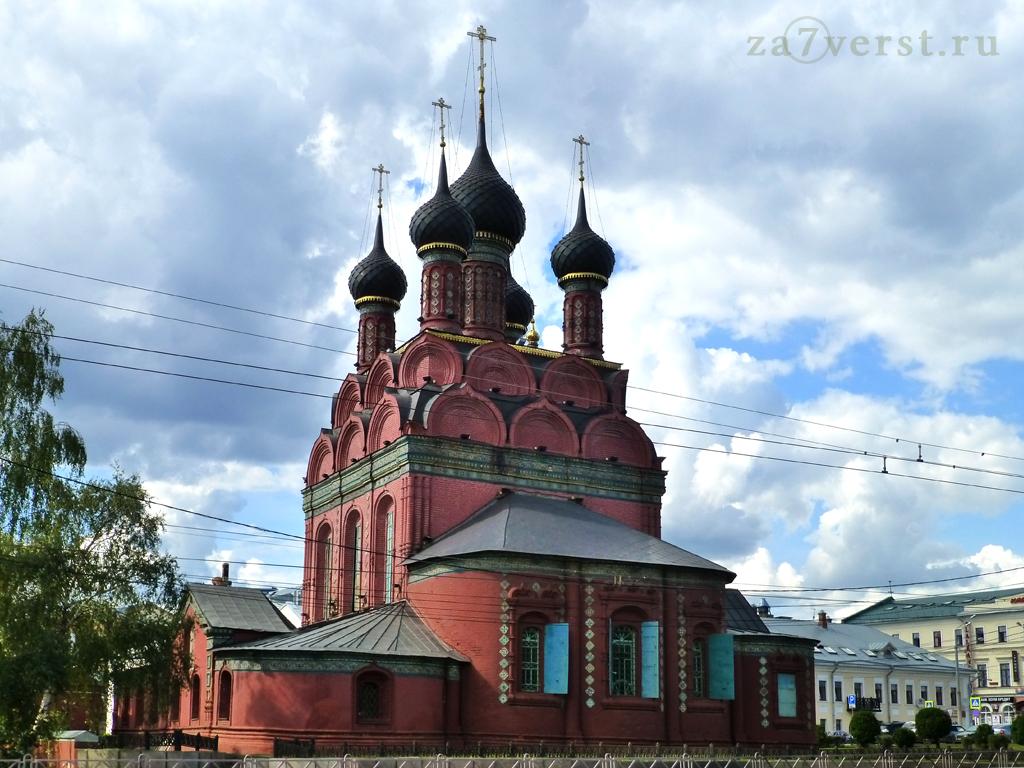 Вид на Церковь Богоявления
