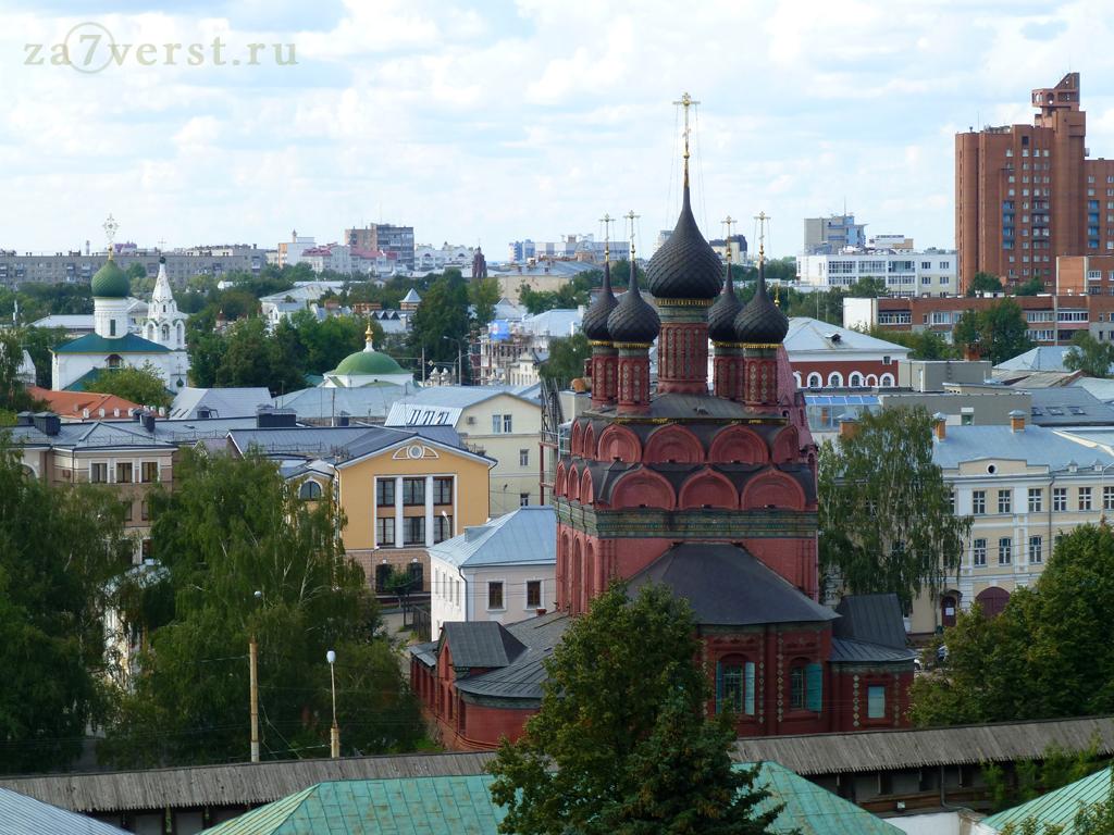 Богоявленкий храм Ярославль