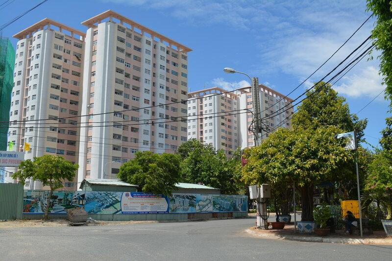 """Многоэтажки для вьетнамского """"среднего класса"""" в Вунгтау."""
