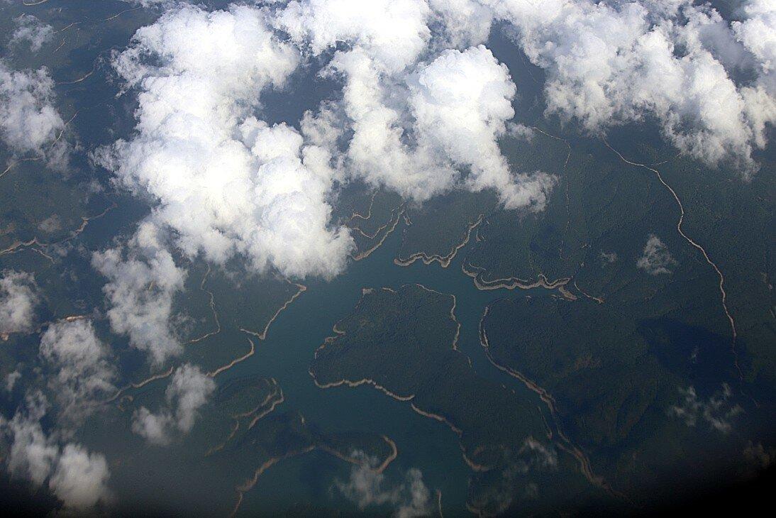 Турция. Водохранилище Дарлик (Darlik Dam).