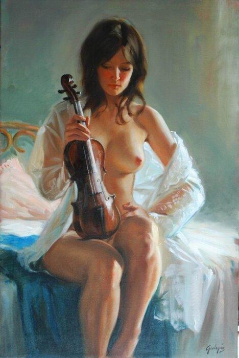 О женщина, ты роза и кинжал! Laszlo Gulyas (Венгрия) +18