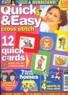 Журнал Quick & Easy cross stitch №45, 1999