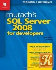Книга Murach's SQL Server 2008 for Developers