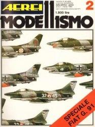 Книга Aerei Modellismo №2, 1980