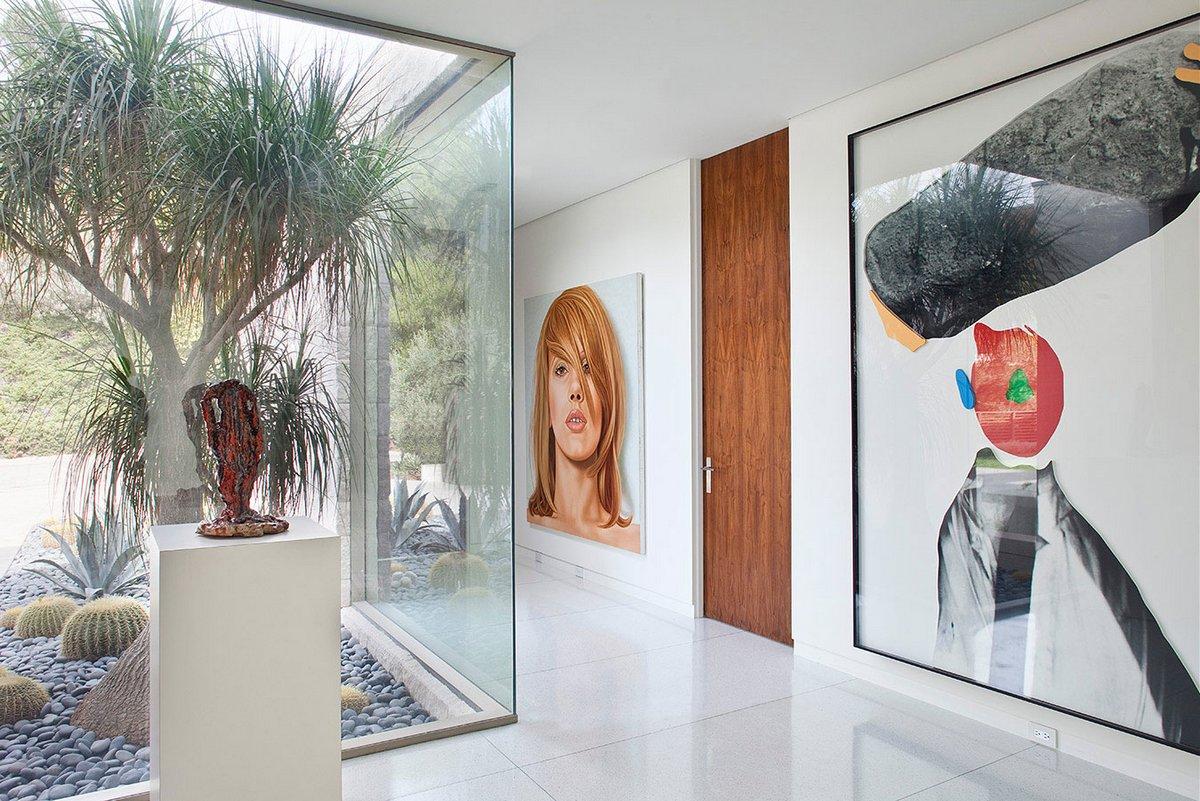 Trousdale Residence, дома в Траусдейл Эстейтс, особняки в Беверли Хиллз, частные дома штат Калифорния, дома кинозвезд, особняк в Голливуде, дом с видом на Лос-Анджелес