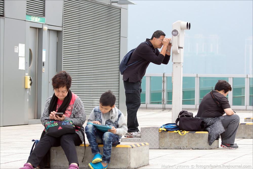 Споттинг в Гонконге