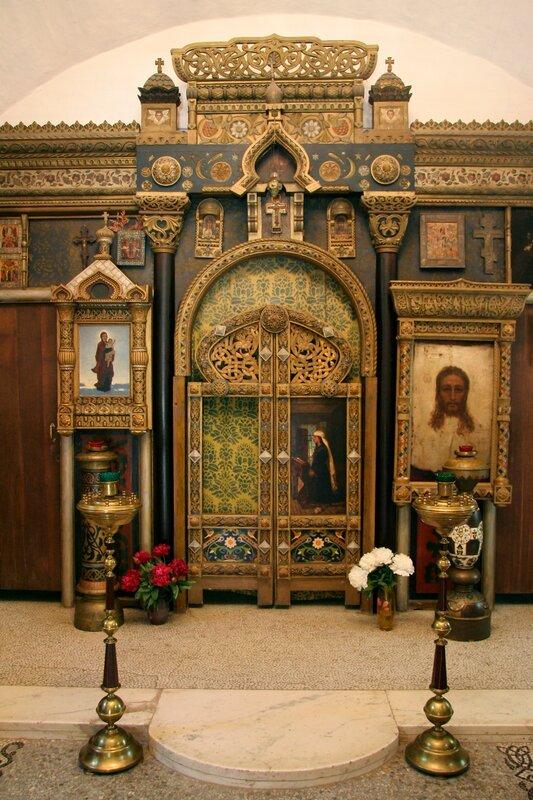 Абрамцево, церковь Спаса Нерукотворного, Царские врата