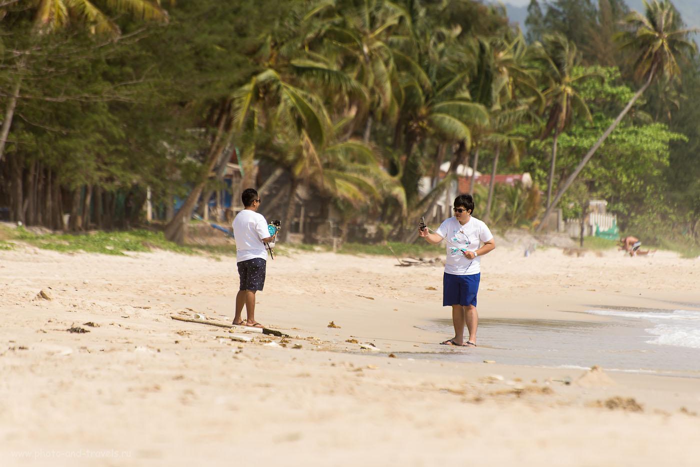 Фото 3. Пляж Thung Wua Laen Beach. Отдых в Таиланде. Отзывы туристов о поездке в Чумпхон. Три друга (100, 300, 5.6, 1/640)