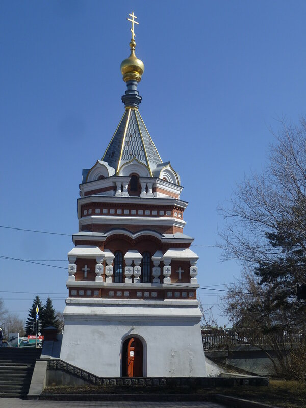 Омск, Серафимо-Алексеевская часовня (Omsk, Seraphim Alekseevskaya Chapel)
