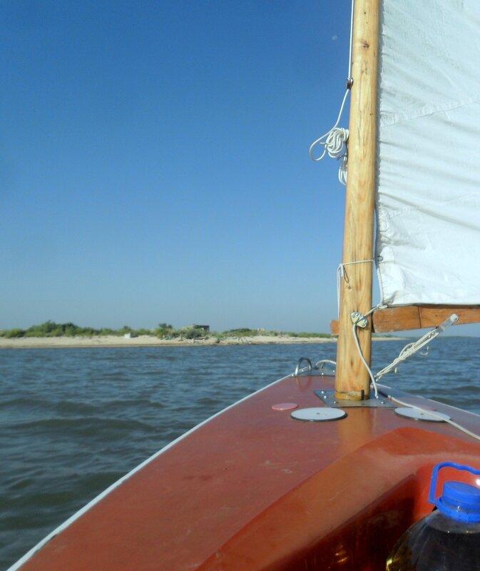 Август, в яхтенном походе, лето, 2014 год