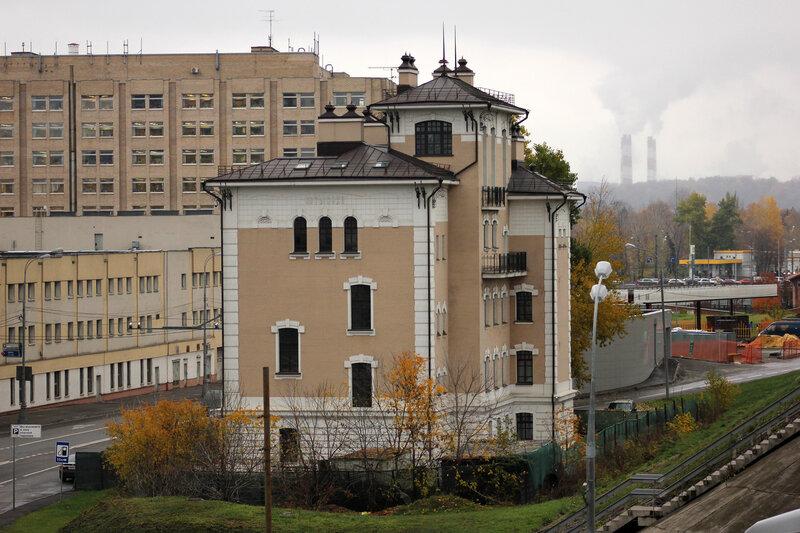 Здание полустанка Потылиха