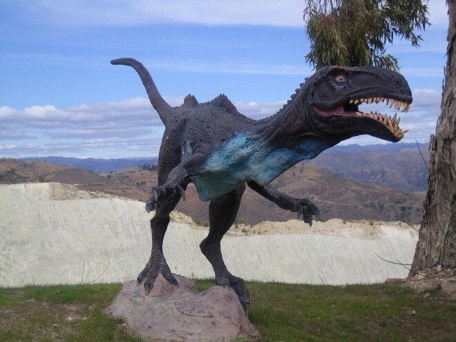 Стена динозавров. Боливия