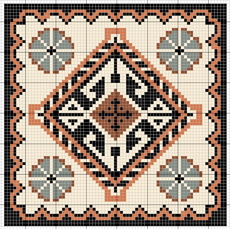 """Предпросмотр - Схема вышивки  """"Схема для Бискорню """" - Схемы автора  """"uknatasha """" - Вышивка крестом."""