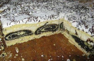 """Торт """"Дерево под снегом"""""""