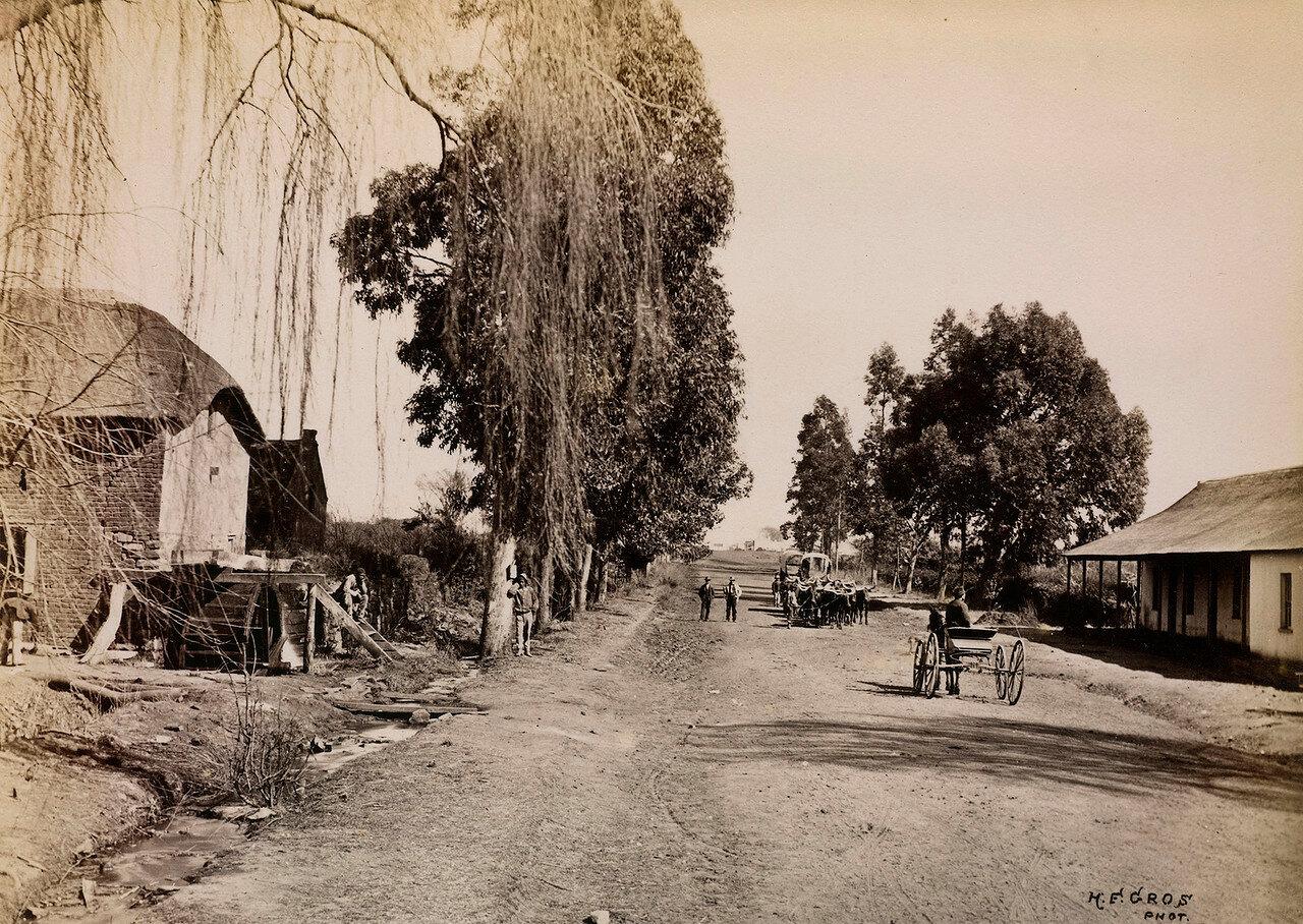 Миддлбургская дорога, ведущая в Преторию
