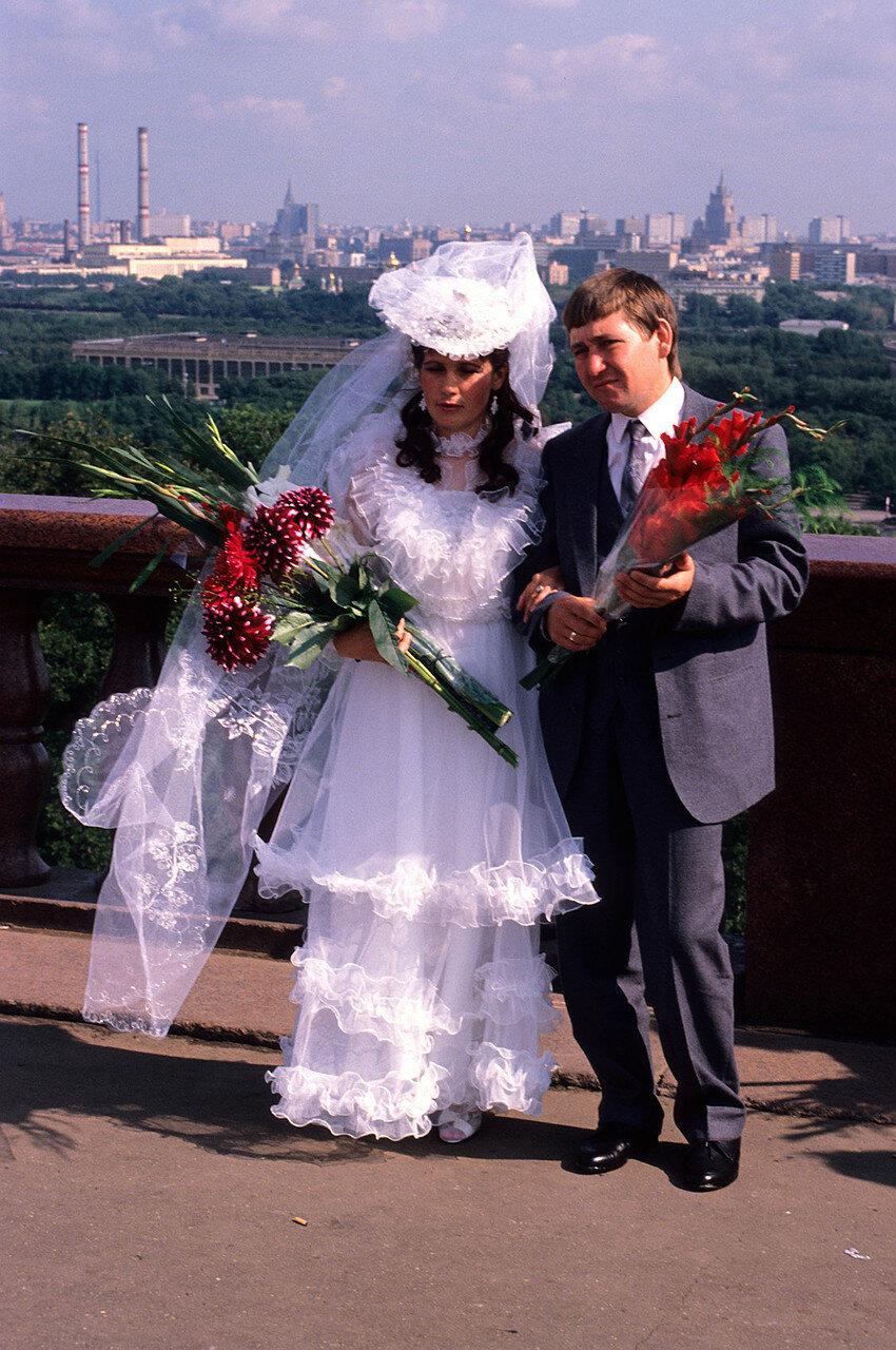 1986. Москва. Свадьба на Ленинских горах
