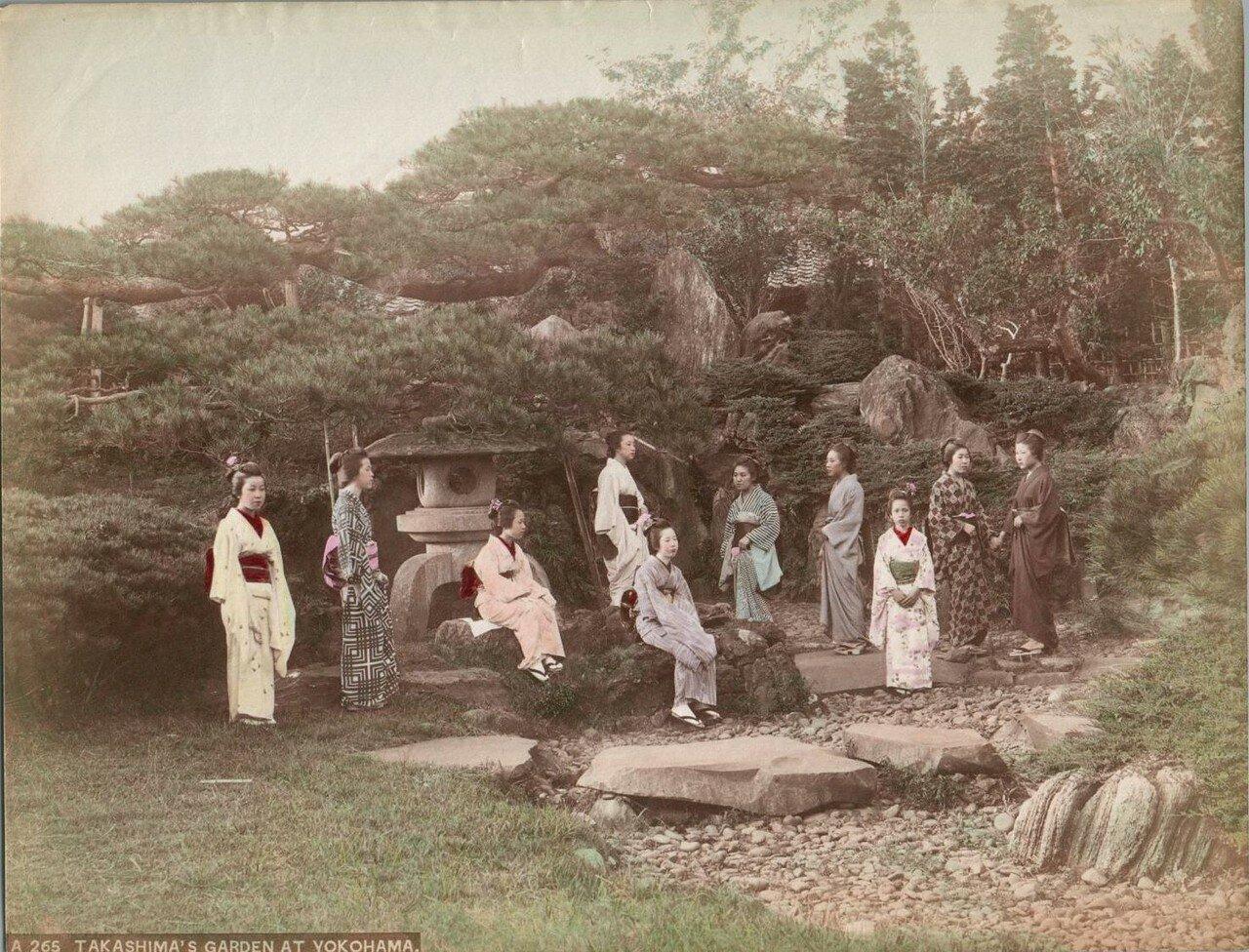Сад в Иокогаме