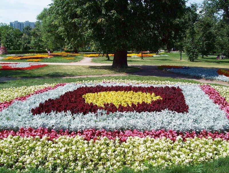 Клумба - вид цветочного оформления строгой геометрической формы из нескольких видов растений одной высоты...