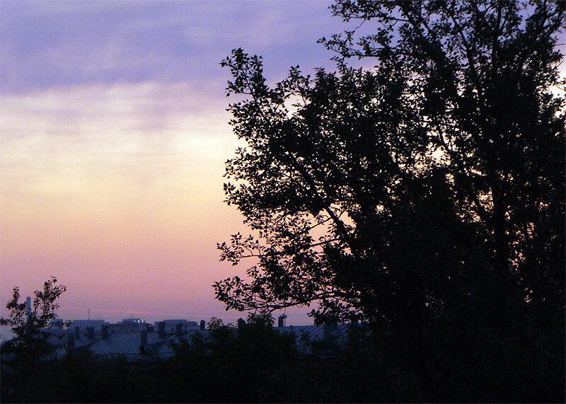 Москва, Лефортово, рассвет 26 июня