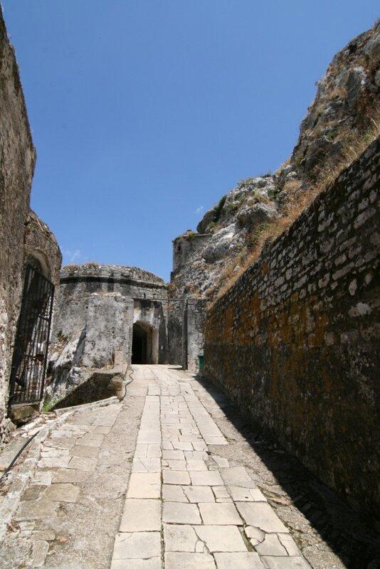Старая крепость Керкиры, Корфу