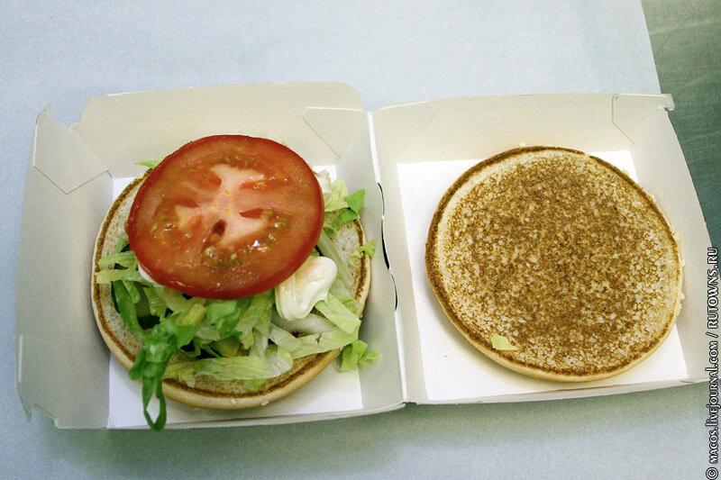 Как готовят в Макдональдсе