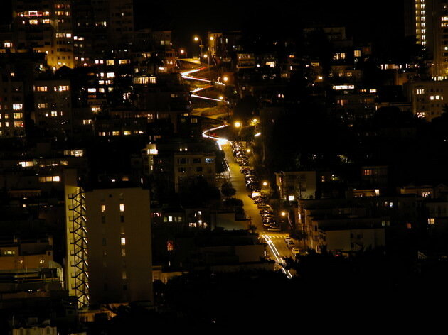 Ломбард стрит. Сан-Франциско