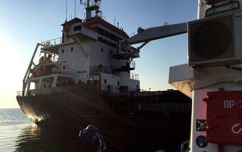 Стали известны подробности бунта на турецком судне у берегов Одессы