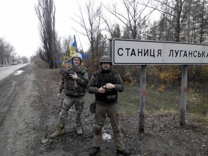 Возле Крымского в Луганской области погиб украинский офицер, - Тягнибок
