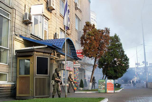 Нацгвардейцы, спасатели и полицейские провели совместные антитеррористические учения возле посольства Израиля в Украине. ВИДЕО+ФОТОрепортаж