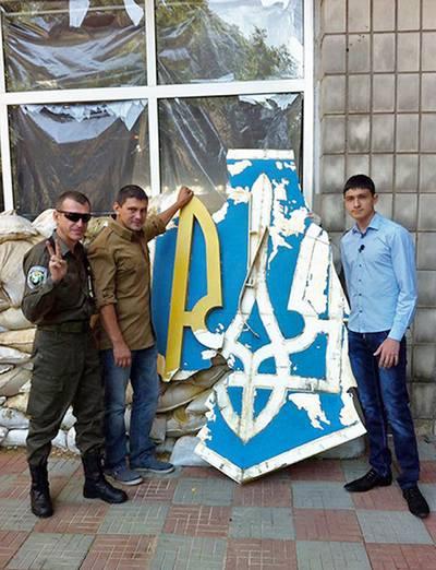 """""""Я придумал легенду: если """"сепары"""" пристанут, скажу, что несем трезубец на растопку"""": Украинский патриот о том, как прятал государственный герб от врага"""