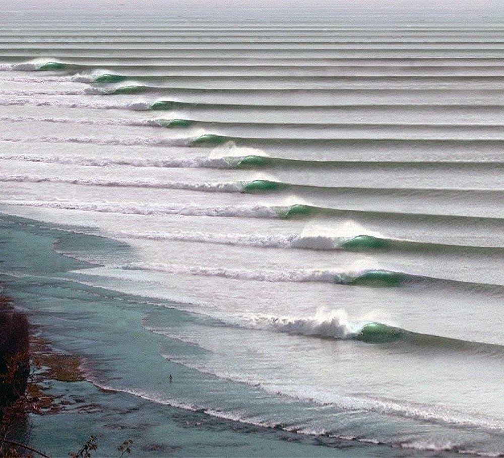 Самые длинные волны в мире