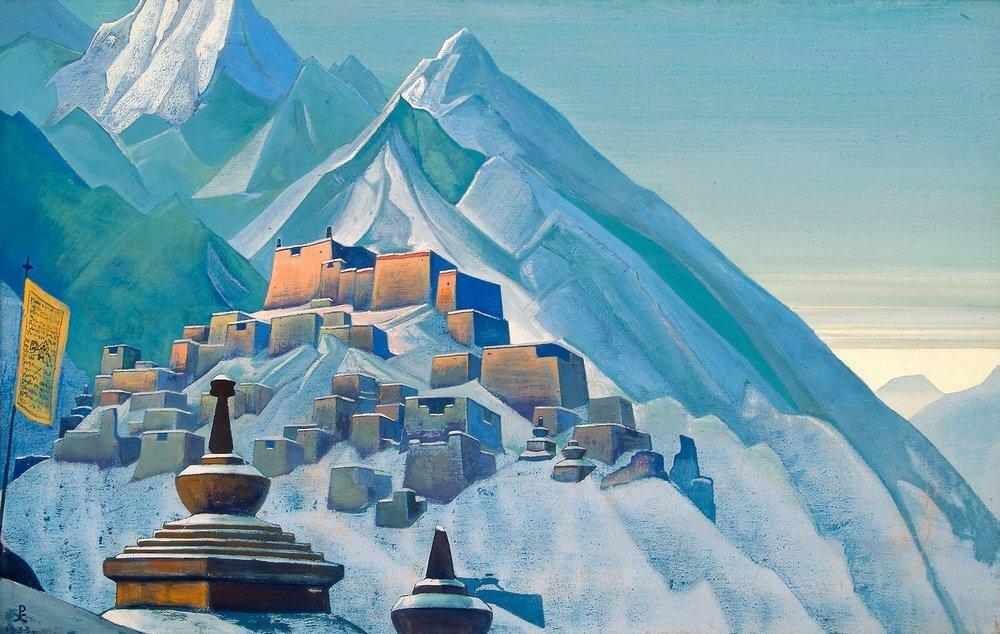 Русско-индийский художник Николай Константинович РерихГалерея мистической живописи. Тибет. Гималаи, 1933