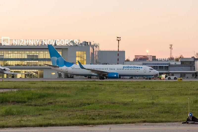 Победа, Boeing 737-800