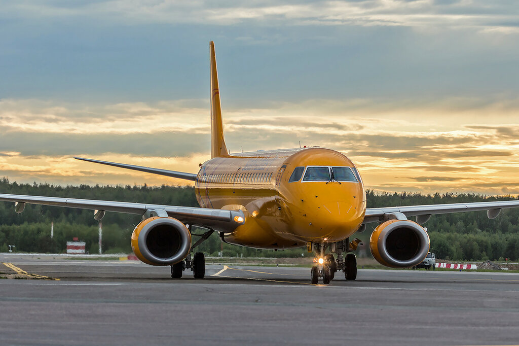 Saratov Airlines, Embraer E190