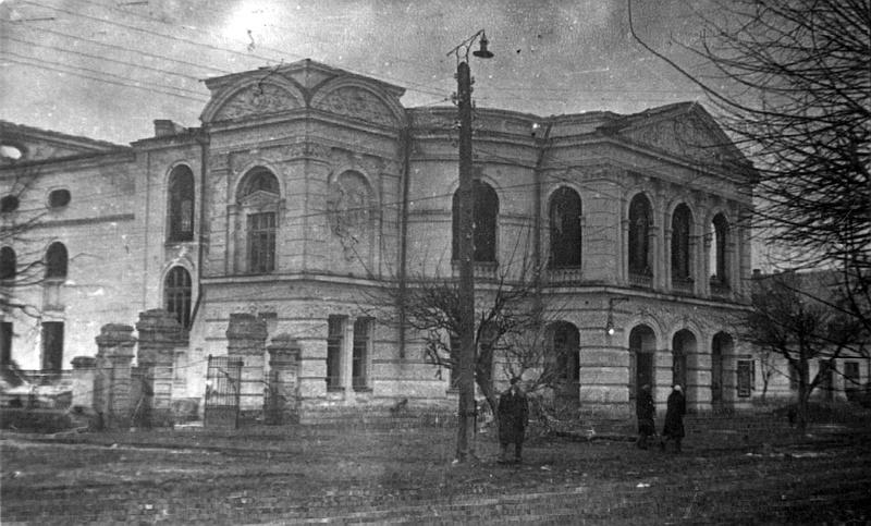 Винницкий театр в марте 1944-го