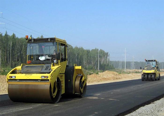 Строительство сельских автомобильных дорог