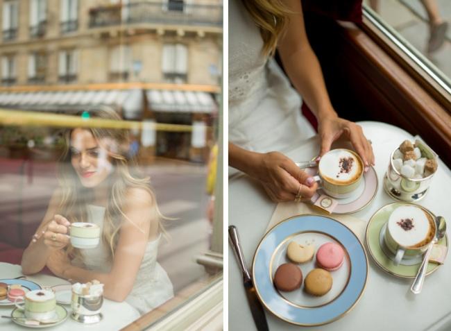 © galmeetsglam  Француженка сума сойдет отскуки, если ейпридется читать про калории, углево