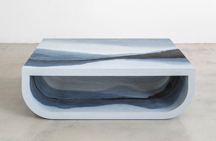 Коллекция мебели из песка и стекла Fernando Mastrangelo (13 фото)