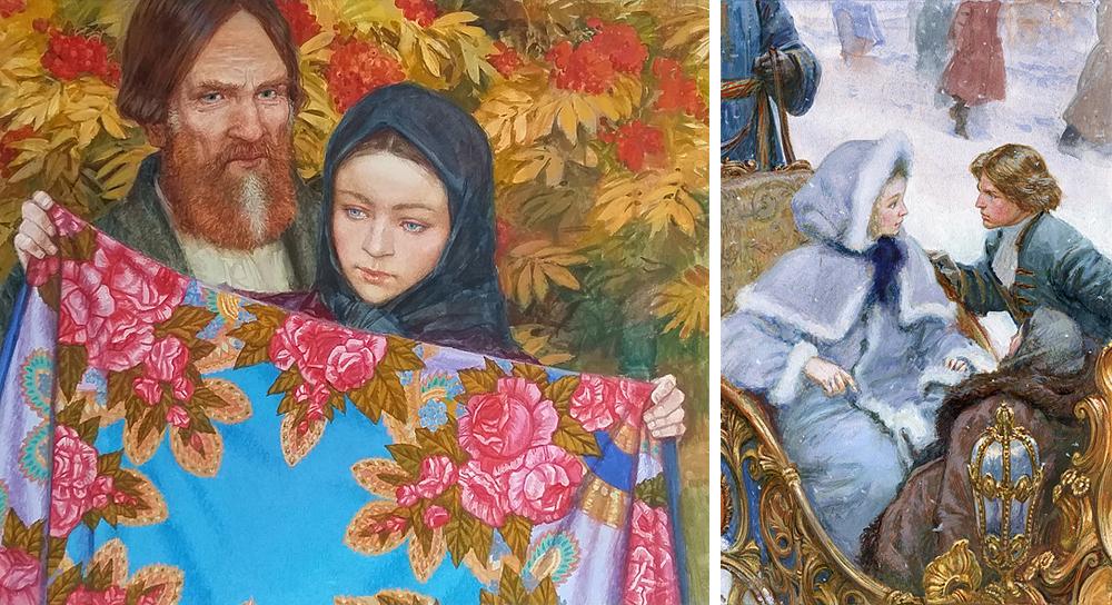 Виктор Глебович Бритвин— российский художник-график, Заслуженный художник Российской Федерации, чле
