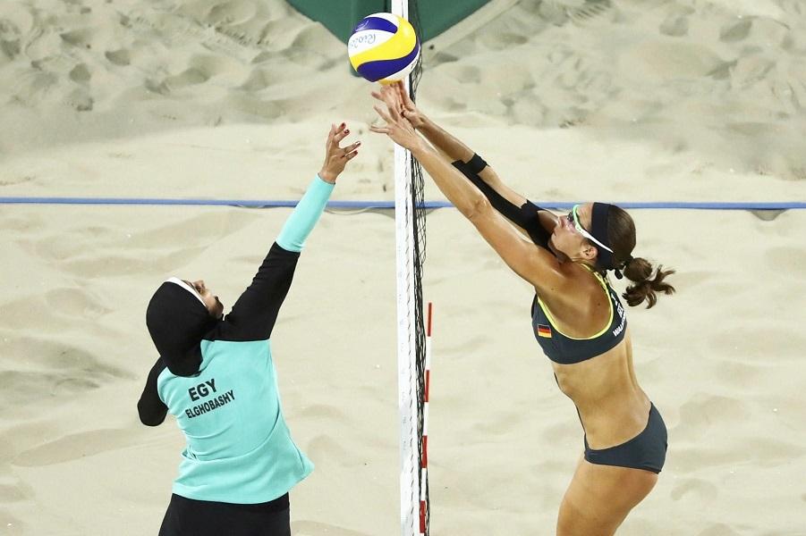 В хиджабе на Олимпиаду
