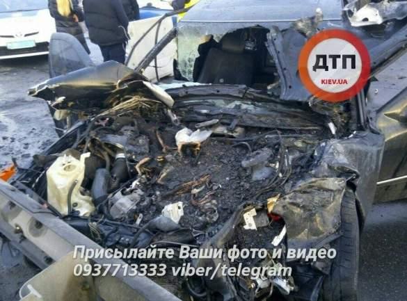 Нетрезвый шофёр устроил серьезное ДТП спожаром