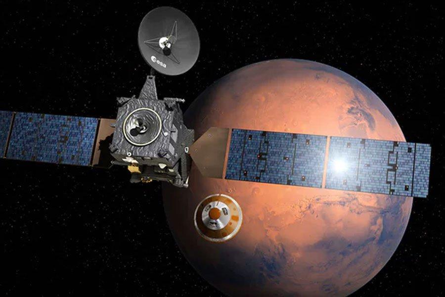 Роскосмос: экспедиция «ЭкзоМарс» выйдет наорбиту Марса 19октября