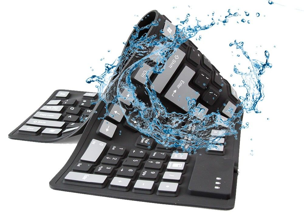 Гибкая usb клавиатура
