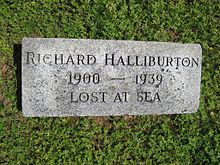 Richard Halliburton's monument