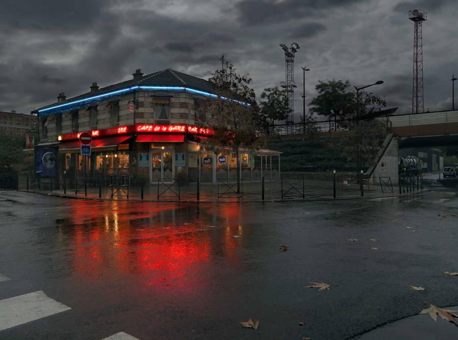 Cafe de la Gare, Ivry-sur-Seine.