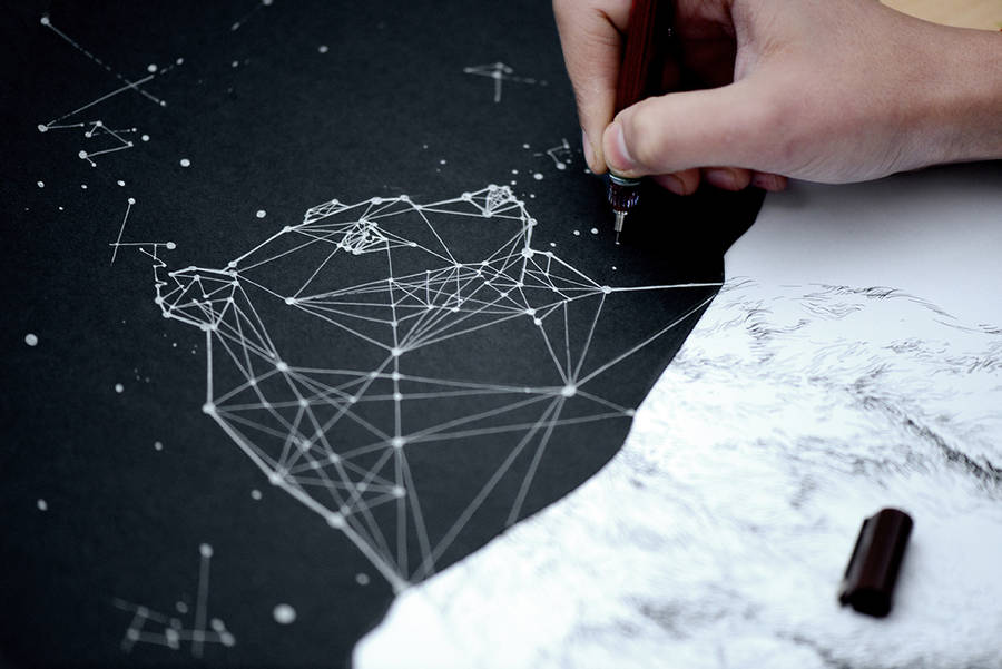 Inventive Constellations and Animals Packaging